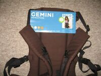 Bec Gemini Front and Back Baby Carrier