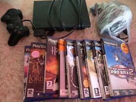 Ps 2 skin with all equipment and games
