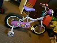 Girls 14 bike