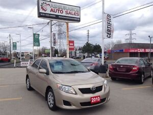 2010 Toyota Corolla CE Automatic No Accidents