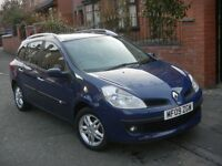 RENAULT CLIO 1.5 DCI DYNAMIQUE 09 REG NEW SHAPE ESTATE 1 OWNER FULL SERVICE HISTORY