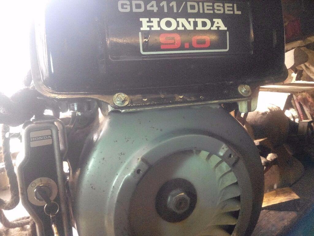 Honda 9hp Diesel GD410-411 Engine, electric start diesel , Diesel ...
