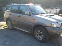 For spares Nissan Terrano