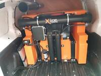 Window Cleaning Equipment Waterfed Pole Xline Xtank 350litre + All Equipment