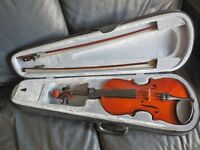 Violin (Full size) with case, never used