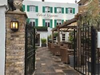FT & PT Waiter or Waitress in Chiswick: Villa di Geggiano Italian Restaurant