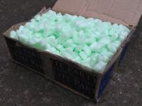 Boxes of Packing Peanuts Packaging Foam Nuggets Loose Void Filling Chips