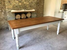 7ft Farmhouse Table
