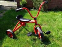 Second-hand red Galt tricycle for sale. Good condition.