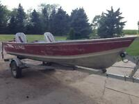 16 foot Lund Fishing Boat