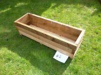 Garden planter wooden box **BARGAIN**