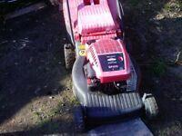 mountfeld self drive mower