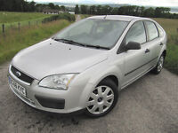 Ford Focus 1.6 LX 5 door Air Con Long MOT VGC 56 plate NOW only £1795