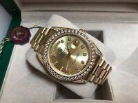 Men's Swiss Watch Eta Roley