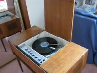 Genuine 1960's Record Player in working order