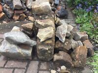 Rockery / dry stone wall stones