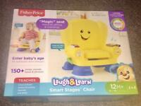 Fisher Price Laugh & Learn Smart Stages Chair £35 ono