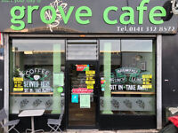 The Grove Cafe Leasehold on offer - Profitable Café located in Maryhill