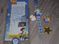 Toy Story watch with different faces
