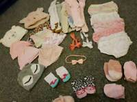 Baby girl bundle clothing (many photos)