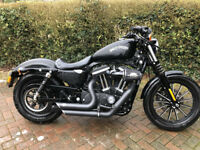 Harley Davidson 883 N Iron Sportster - Low Mileage, Vance & Hines, Screaming eagle, Stage 1 tuned