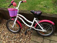 Girls bike 4-7