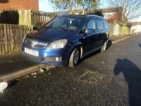Vauxhall Zafira SRI 1.9 cdti Diesel - AUTO - 2007 - 7 seater - spares repairs - starts and drives