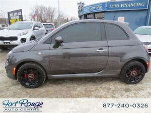 2015 Fiat 500 Sport - PANO SUNROOF/LEATHER/BLUETOOTH