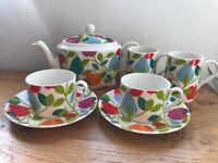 Whittards Apple Tree Tea Set - new
