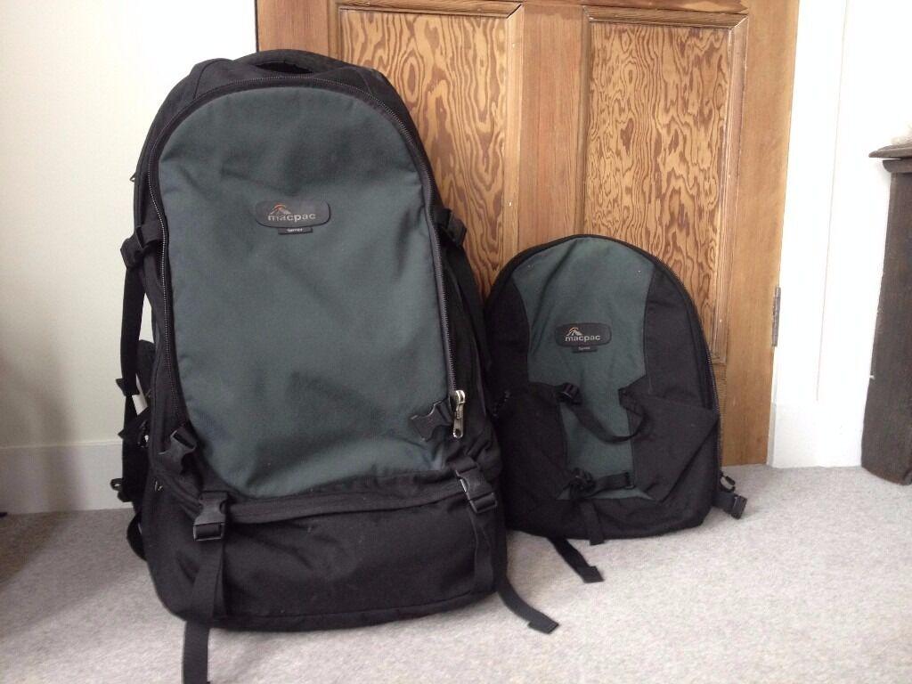 Macpac Gemini Rucksack With Detachable Daypack 60l
