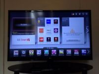 """LG 42"""" Smart LED TV (42LS575T) with Stand"""