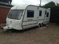 Caravan Coachman Laser 590/5 Year 1999