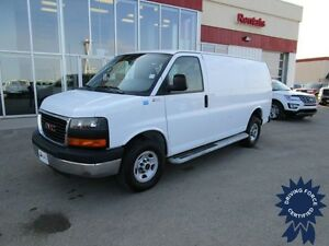 2015 GMC Savana G2500 Cargo Van w/Cab Guard 14,352 Kms