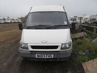 Ford Transit mwb/mdm roof for spares repair