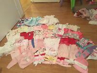 £15 baby girl newborn-3 month excellent condition bundle includes accessories