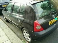 Renault Clio 2 Owners, MOT, TAX, DRIVES PERFECTLY 53,000 Mileage