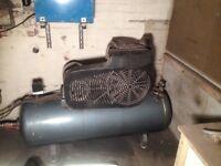 Large industrial air compressor