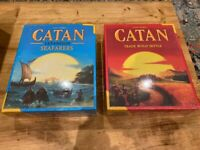 Catan (Base Game) and Seafarers (Extension) New Unopened