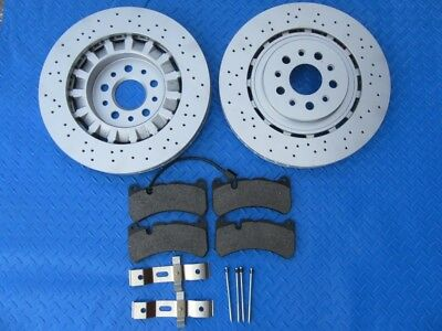 Maserati Ghibli Sq4 Quattroporte Awd front rotors brake pads #5849