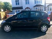 Stunning 2008 Mercedes A150 A Class 1.5 5 DOOR 10 Stamps Full Service History Only 66000 Miles Black