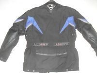 LOOKWELL PERFORMANCE TOP GEAR WIND & WATERPROOF CARBON TECH BIKER JACKET WITH FULL PROTECTION