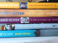Jamie Oliver Cookery books 5 in all good condition