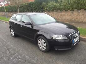 *** 2010 AUDI A3 FACELIFT 1.6 TDI AUTOMATIC 7 SPEED FULL HISTORY INCLUDING CAMBELT*** £4500 BARGAIN
