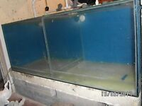 Tropical Fish Tank / Aquarium 5ft x 2ft x 2ft, equally split with glass into 2 sections ,