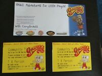 Two tickets to Gullivers Land Theme Park 1st or 2nd October