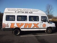 LDV CONVOY 16 seat minibus with coif / Tachograph