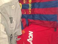 Sport bundle! Manutd Barcelona and everlast boxing jumper