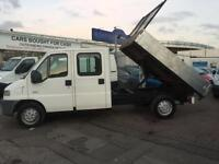 2001 Y CITROEN RELAY 2.5 DIESEL TIPPER SOLID WORKHORSE SUPERB DRIVE 7 SEATER READY FOR WORK NO VAT !