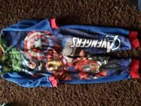 Avengers onesie