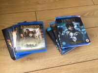 Lord of the Rings / The Hobbit 3D Blu-rays